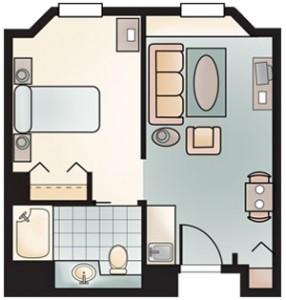 Herrick House Beverly Apartment Floor Plan