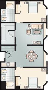 Herrick House Rockport Apartment Floor Plan